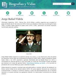 Biografia de Jorge Rafael Videla