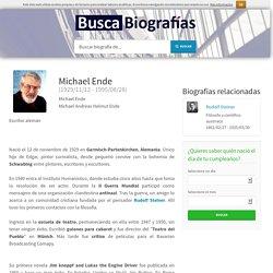 Biografía de Michael Ende - quién es, obras, información, resumen, vida