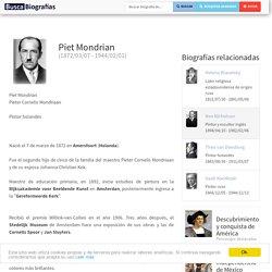 Biografía de Piet Mondrian - quién es, obras, información, resumen, vida, tarea, historia