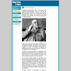 Biografia de Norbert Wiener