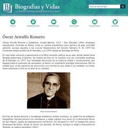 Biografia de Óscar Arnulfo Romero