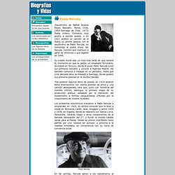 Biografia de Pablo Neruda