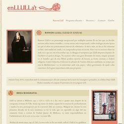 Biografia Ramon Llull