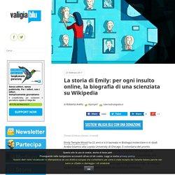 La storia di Emily: per ogni insulto online, la biografia di una scienziata su Wikipedia – Valigia Blu
