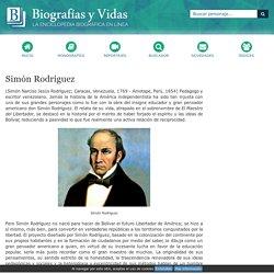 Biografia de Simón Rodríguez