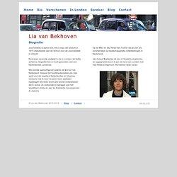 Biografie - Lia van Bekhoven