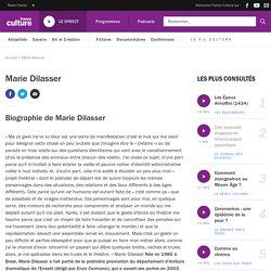 Marie Dilasser : biographie, actualités et émissions France Culture