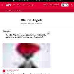 Biographie et actualités de Claude Angeli France Inter