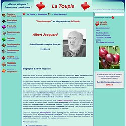 Biographie de Albert Jacquard