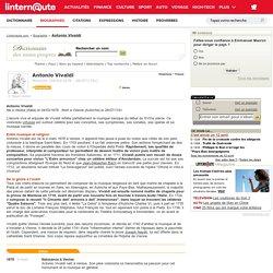 Biographie Antonio Vivaldi - linternaute.com