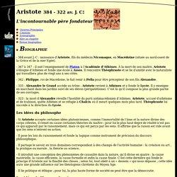 Tous les savoirs du monde : Biographie d'Aristote