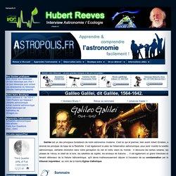Biographie de Galilée - inventeur de la lunette astronomique