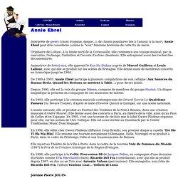 annie ebrel biographie bretonne de musicien de musique celtique