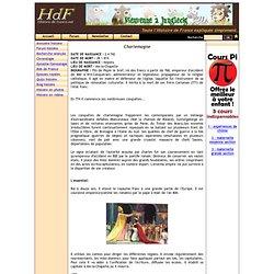 Biographie de Charlemagne