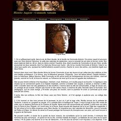 Biographie de Commode dans l'Histoire Auguste