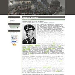 Biographie de Heinrich Himmler