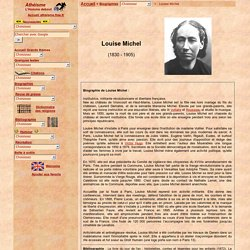 Biographie de Louise Michel
