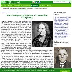 Biographie de Pierre Varignon
