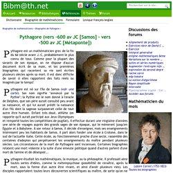 Biographie de Pythagore