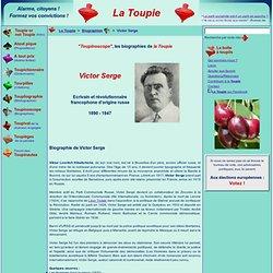 Biographie de Victor Serge
