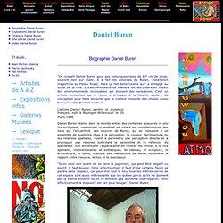 Biographie de Daniel Buren