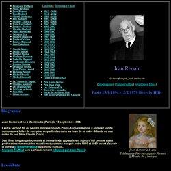 Biographie et Filmographie de Jean Renoir