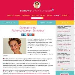 Biographie de Florence Servan-Schreiber