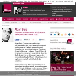 Biographie de Alban Berg