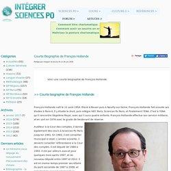 Courte Biographie de François Hollande