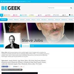 Steve Jobs : Biographie, hommages et carrière de Steve Jobs