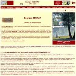 Biographie de Georges SEURAT - Le Néo-Impressionnisme