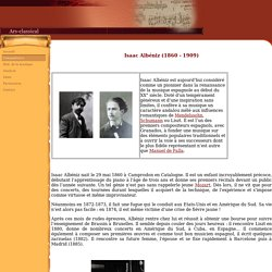 Biographie d'Isaac Albéniz
