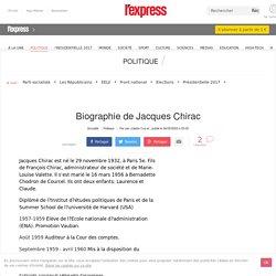 Biographie de Jacques Chirac