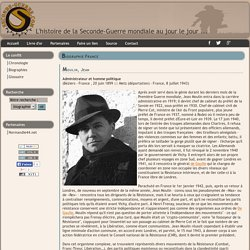 Biographie de Jean Moulin