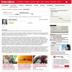 Biographie John Dalton