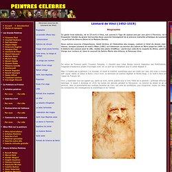 Biographie - Léonard de Vinci - Tableaux et dessins