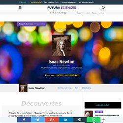 Isaac Newton - Mathématicien, physicien et astronome
