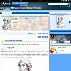 Biographie > Pythagore de Samos, Mathématicien