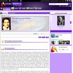 Biographie : Lise Meitner