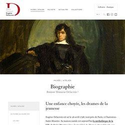 Biographie - Musée Delacroix