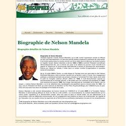 Biographie de Nelson Mandela