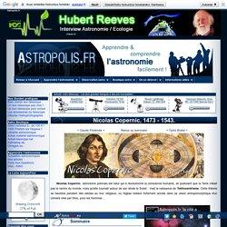 Biographie de Nicolas Copernic