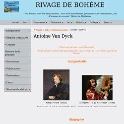 Biographie et œuvre de Antoine Van Dyck