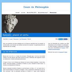 Epicure : biographie et pensée d'un Philosophe grec de l'Antiquité