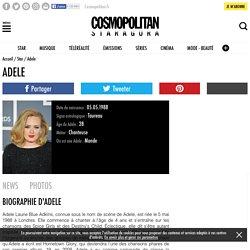 Adele - Biographie, Actu, Photos et Vidéos - Staragora