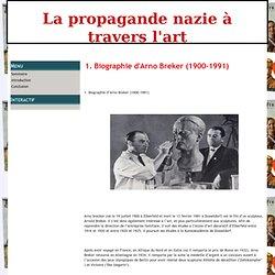 1. Biographie d'Arno Breker (1900-1991) - La propagande nazie à travers l'art