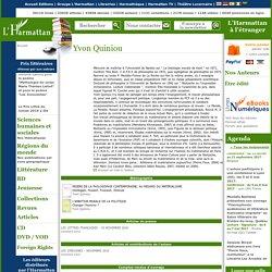 Yvon Quiniou - Biographie, publications (livres, articles)