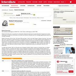 Biographie Robert Schumann - linternaute.com