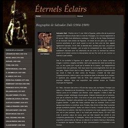 Biographie de Salvador Dali