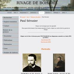 Biographie et oeuvre de Paul Sérusier, peintre nabi